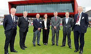 Official Handover Of 'The Point' At Old Trafford