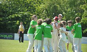 Strandtown Primary School Celebrates Kwik Cricket Win