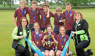 George Watson Primary School Are Kwik Cricket Winners