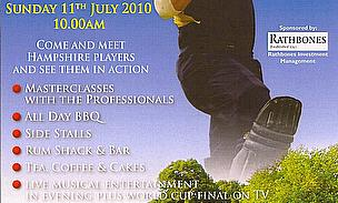 Charity Celebrity Cricket Sixes Day In Winchester