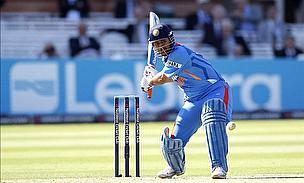 Dhoni Inspects Pitch Prior To Crucial Encounter