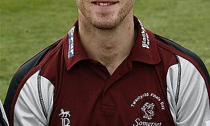 Derbyshire Sign Somerset's Mark Turner