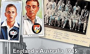 The Victory Tests - England v Australia 1945- Mark Rowe