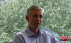 Cricket World® TV - Steve Elworthy Interview