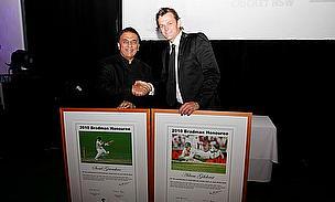 Gilchrist, Gavaskar Recognised As Bradman Honourees
