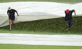 Adelaide Rain Forces England To Train Inside