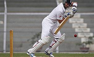 Prior Hits Century As England Draw Tour Game