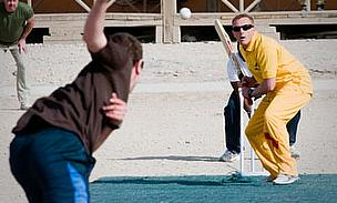 Aussies, Brits Hold Ashes Match In Active War-Zone