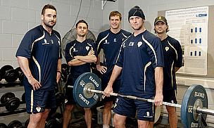 Cricket Stars Get University Workout
