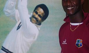 Sammy Takes Inspiration From Sobers