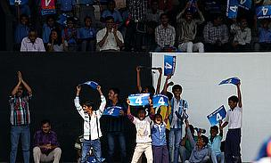 India Fans Celebrate World Cup Semi-Final Success