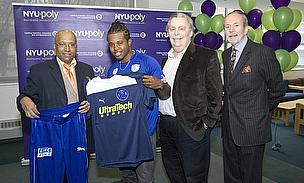 NYU-Polytechnic President Jerry Hultin Honours MVP And Cricket Team