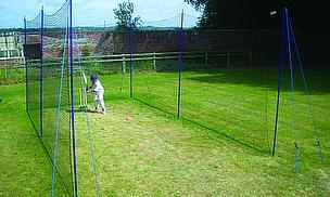 Tildenet Portable Cricket Net Proves Invaluable