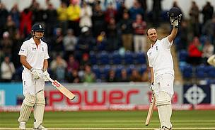 Cook And Trott Set Strong Platform For England