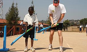 Former Warwickshire Cricketer Takes Cricket To Rwanda