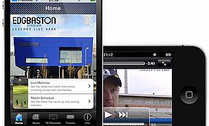 Edgbaston Leads The Way In Launching iPhone App