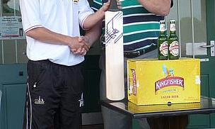 Paul Borrington Wins Cricket World Kingfisher Beer July 2011 Top Performer Award