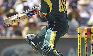 Hussey Guides Australia To Series Win