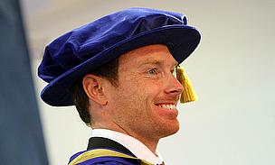 Ian Bell Awarded Honorary Degree