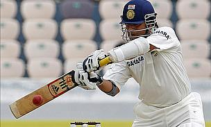 Tendulkar Poised As India Reply Strongly