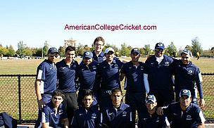 More American College Cricket On TV