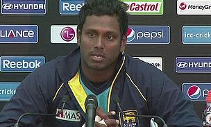 Angelo Mathews Ruled Out Of Asia Cup With Calf Injury