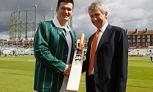 Gunn & Moore Mark Smith's 100th Test With Presentation