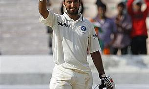 Pujara Dominates New Zealand Attack In Hyderabad