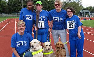 First Ever Female European Blind Cricket Team To Carry Paralympic Torch
