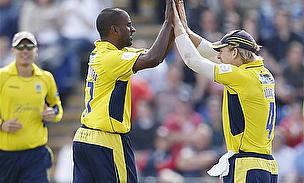 Hampshire Win Trophy Despite Miller Blitz