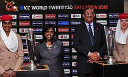 ICC World T20 Trophies Arrive In Sri Lanka