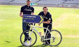 Cricketers Get Behind Activate Sport Foundation Bike Challenge