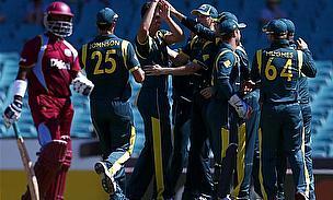 Australia Close Series With Crushing Win