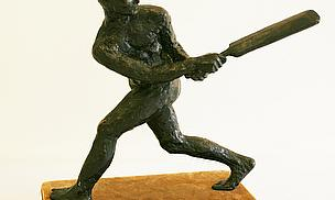 David Wynne Sculpture Of Denis Compton To Auction