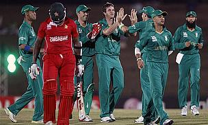 Cricket Video - South Africa Thrash Zimbabwe In ICC World Twenty20 Game Four - Cricket World TV