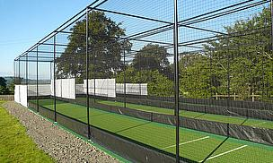 New Bespoke Nets With Fully Enclosed Bowling End For Bartestree & Lugwardine CC