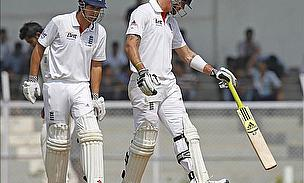 Cook And Pietersen Partnership Drives England