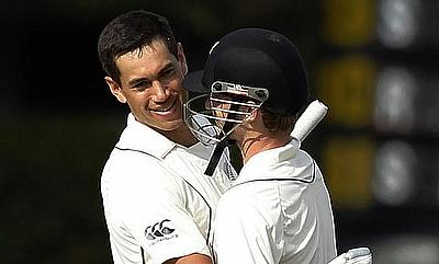 Taylor And Williamson Stand Gives New Zealand Hope