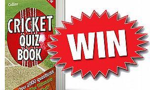 Win A Collins Cricket Quiz Book