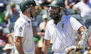 Amla And De Villiers Set Australia Unprecedented Task
