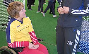 England Captain Inspired By Girls Disability Sport Day