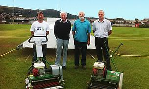 Dennis Mowers Help Restore Cricket Club To Highest Standards