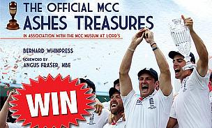 Win A Copy Of 'The Official MCC Ashes Treasures'