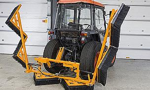SISIS Tractor Mounted Cricket Outfield Brushes