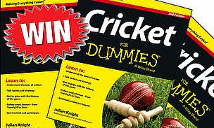 Win A Copy Of 'Cricket For Dummies'