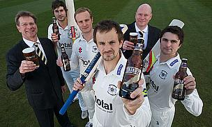 Gloucestershire Players Invite Fans To Beer Tasting