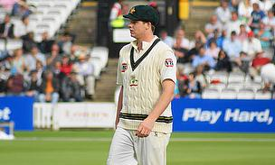 Steve Smith pictured during a Test match for Australia