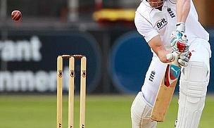 Nick Compton playing for the England Lions