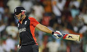 Tim Bresnan playing for England in limited-overs cricket