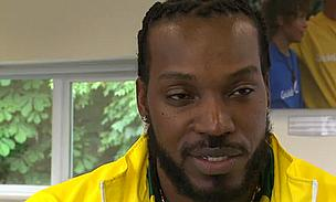 Interview - Gayle On Usain Bolt, Sachin Tendulkar